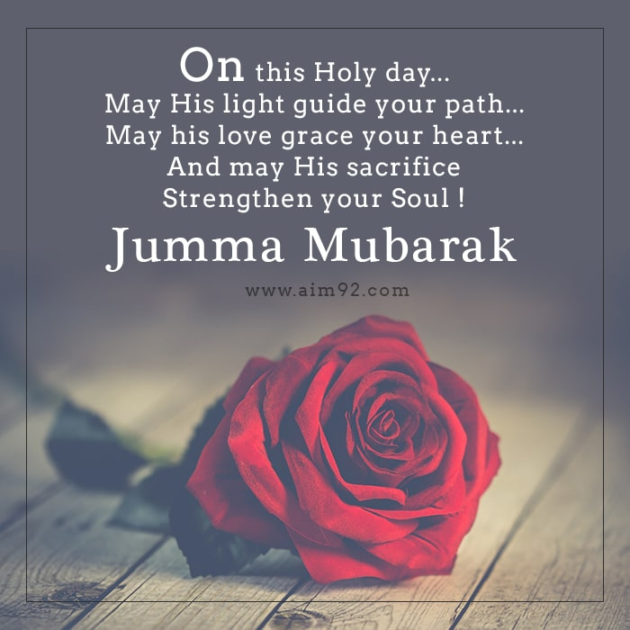 prayer jumma mubarak quotes in english